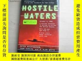 二手書博民逛書店HOSTILE罕見WATERSY14134 出版1997