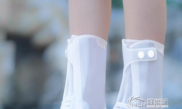 防水鞋套雨鞋套雨天防雨兒童高筒加厚防滑耐磨底腳套硅膠雨靴雨鞋 好樂匯
