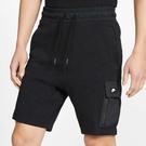 Nike Sportswear 男裝 短褲 多口袋 棉質 柔軟 舒適 休閒 舒適 黑【運度世界】BV3117-011