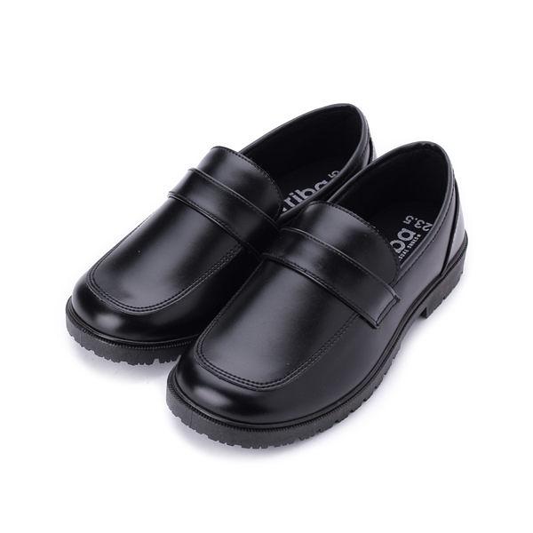 ARRIBA 套式素面學生鞋 黑 女鞋 鞋全家福