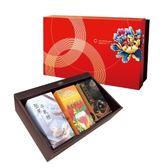綠源寶禮盒A3(核桃糕+牛軋糖+補氣茶)