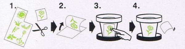 美飾轉印膠片GP51-可剪割分貼(1入)