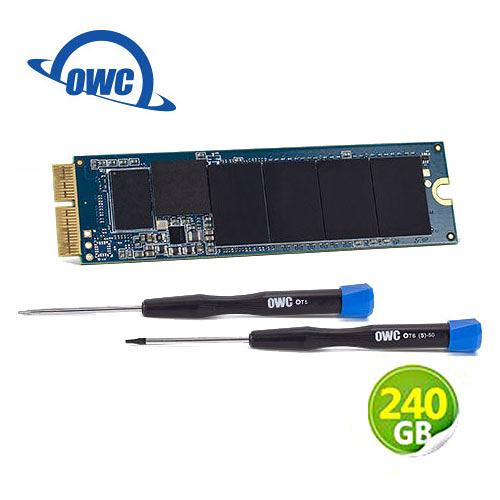 OWC Aura N 240GB NVMe 適用於Mac mini SSD 升級套件 含工具及組件 (OWCS3DAB2MM02K)