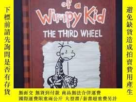 二手書博民逛書店The罕見Third WheelY6583 Jeff Kinney Amulet Books 出版2012