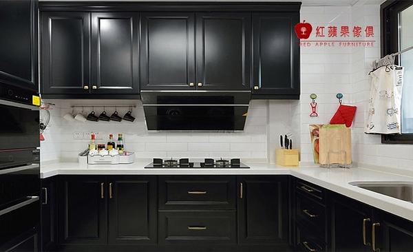 [紅蘋果傢俱] LC-03 全屋訂製 櫥櫃 系統櫃 大裡石櫥櫃 廚具 客制化產品