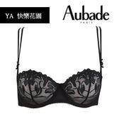 Aubade-快樂花園B-E薄襯內衣(黑)YA