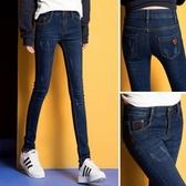 百搭女式牛仔褲女士春季2020新款夏季女裝顯瘦彈力緊身小腳長褲子 酷男精品館