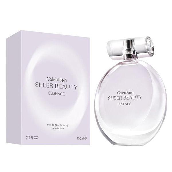 Calvin Klein SHEER BEAUTY ESSENCE 純情雅緻 女性淡香水 50ml【七三七香水精品坊】