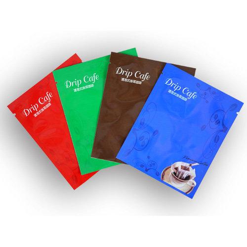 東尚公版袋DP005掛耳式濾泡咖啡袋-咖啡外袋(三面封袋型)-100個/箱 (亮面材質)