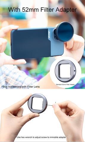 Ulanzi 優籃子1.33XT 手機用 變形電影鏡頭 Anamorphic Lens