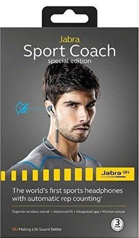 公司貨 三年保固 內附便攜袋『 Jabra Sport Coach SE 升級版 』無線偵測 藍牙耳機/藍芽運動耳機