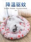 寵物冰墊 貓咪冰墊冰窩貓用涼席墊子寵物夏天睡覺貓窩降溫墊狗狗冰墊子用品 快速發貨