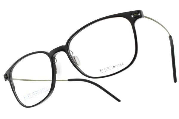 VYCOZ 光學眼鏡 MISTER BLK-GN (黑-綠) 植粹環保簡約鏡框 # 金橘眼鏡