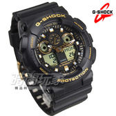 G-SHOCK GA-100GBX-1A9 街頭時尚立體整點時刻男錶 防水手錶 黑x金 GA-100GBX-1A9DR CASIO卡西歐