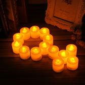 交換禮物 無煙電子蠟燭浪漫LED蠟燭燈婚禮派對生日七夕求婚表白道具情人節 城市玩家