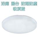 亮博士LED蛋糕吸頂燈 15W IP54防水/黃光/白光 走道 玄關 陽台 浴室 室內外皆適用
