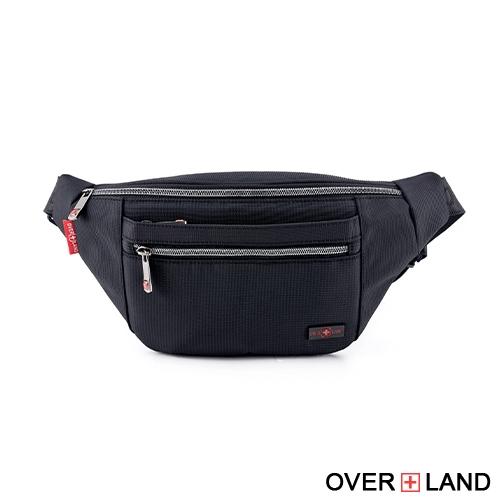 OVERLAND - 美式十字軍 - 經典隨興拉鍊斜跨包 - 5647