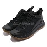 Under Armour 籃球鞋 UA 3Z5 黑 膠底 男鞋 避震支撐 curry 【ACS】 3023087003