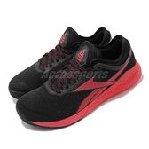 Reebok 訓練鞋 R CrossFit Nano 9 黑 紅 健身專用 重量訓練 女鞋 運動鞋【ACS】 FU6832