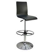 邏爵家具~C-020B0X 炫感高背曲木 高腳皮革 事務椅 電腦椅 吧台椅(三色)