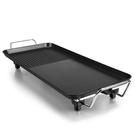 【快速出貨】韓風電熱鍋(SK-040) 無煙不粘鍋電烤盤 - 黑色大號(68X28cm)