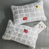 一對裝枕套成人大號單人枕用簡約加厚學生宿舍枕芯罩枕頭套  糖糖日系森女屋