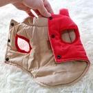 寵物服 兩面寵物衣服小狗狗馬甲小型犬貓咪泰迪比熊吉娃娃厚款 快速出貨