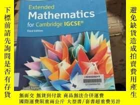 二手書博民逛書店Extended罕見Mathematics for Cambri