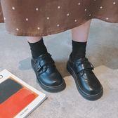 娃娃鞋原宿小皮鞋女學生韓版百搭ulzzang大頭鞋復古日繫軟妹娃娃單鞋潮 【時尚新品】