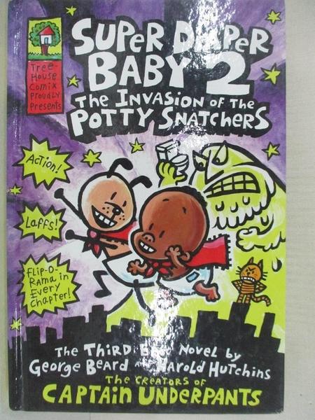 【書寶二手書T1/原文小說_BMQ】Super Diaper Baby 2: The Invasion…_Dav Pilkey