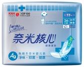 奈米核心健康護墊加長型(無香)17cm26片