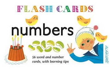 Number Flash Cards 算數學習圖卡