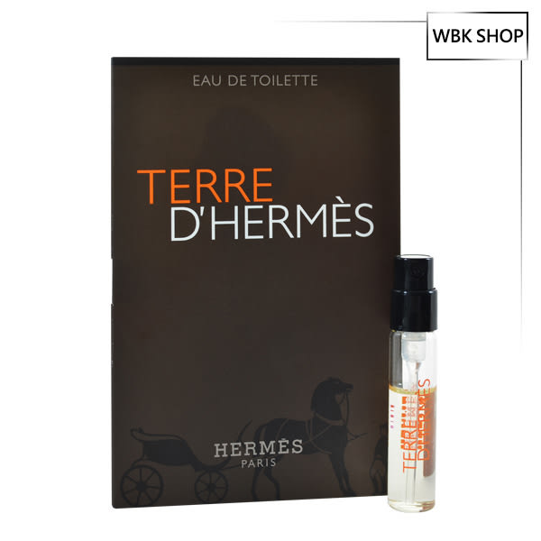 Hermes 愛馬仕 大地 男性淡香水 針管小香 2ml - WBK SHOP