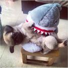 ((限時299元))熱賣鯊魚毛絨室內拖鞋 情侶可愛鯊魚居家鞋 保暖毛絨拖鞋【Mr.1688先生】