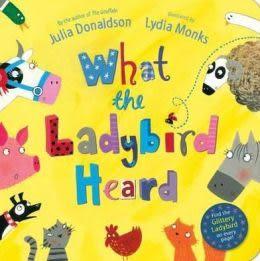 【麥克書店】WHAT THE LADYBIRD HEARD/英文繪本附CD