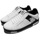 Royal Elastics 休閒鞋 Icon 白 黑 特殊圖騰 戰狼 無鞋帶設計 皮革鞋面 男鞋【PUMP306】 02081090