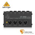 【缺貨】Behringer 耳朵牌 迷你 耳機分配器/擴大器 MICROAMP HA400【立體聲 / 四輸出 / 耳擴】