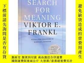 二手書博民逛書店活出生命的意義罕見英文原版 Man s Search for Meaning 維克多弗蘭克爾 Viktor E F