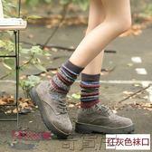 堆堆襪女秋冬加長純棉襪中高筒