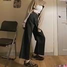熱賣牛仔褲 適合胯大腿粗牛仔褲女春夏新款大碼蕾絲邊高腰寬鬆直筒顯瘦闊腿褲 coco