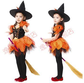 cos化妝舞會 巫婆衣服做工好精靈小女巫