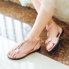 涼鞋韓版夏季裝平底水鉆公主鞋時尚兒童魚嘴潮防滑鞋子女童涼鞋2020新款