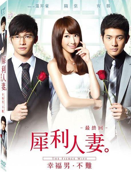 犀利人妻最終回︰幸福男.不難 單碟版 DVD The Fierce Wife: Woman Onerous: Seeking Mr. Right (音樂影片購)