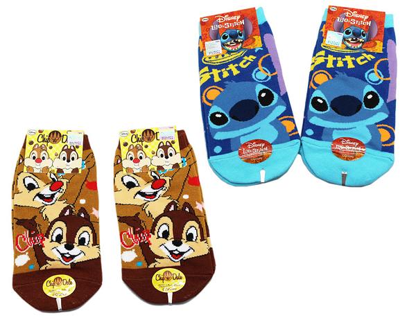 【卡漫城】 襪子 15-22cm 三雙組 ㊣版 童襪 短襪 史迪奇 Stitch 奇奇蒂蒂 Chip n Dale 台灣製