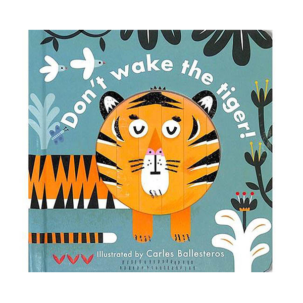 Little Faces:Don't Wake The Tiger 變臉操作書:動物篇