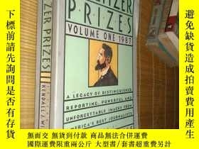 二手書博民逛書店the罕見pulitzer prizes volume one1987Y10445 kendall j. wi