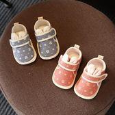 學步鞋 嬰兒鞋子春秋季6-12個月男女寶寶學步鞋軟底0-1歲幼兒布鞋步前鞋【全館九折】
