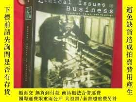 二手書博民逛書店Ethical罕見Issues in Business Pb (