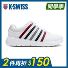 K-SWISS Proactive L時尚運動鞋-男-白/藍/紅