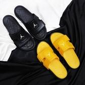 【折後$1799】 NIKE JORDAN HYDRO 8 拖鞋 喬丹 可調式固定帶 運動拖鞋 男款 2色 全黑 全黃